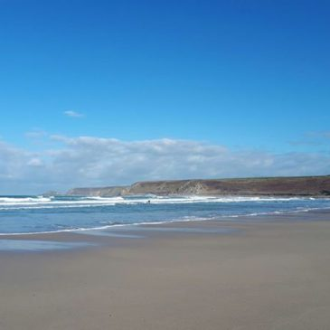 Beautiful Sennen beach