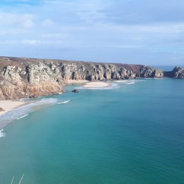 It feels like spring is in the air! Time to think about spring and summer breaks here at Chegwidden. We are within walking distance of  the famous Porthcurno beach. PM for details or find us on airbnb.